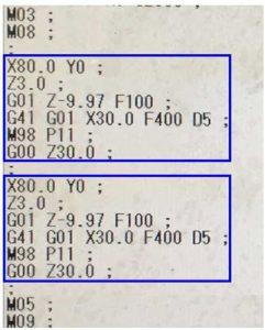 Các mã lệnh trong lập trình phay cnc