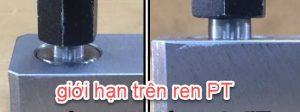 sự khác nhau giữa cữ đo ren côn RC và ren PT