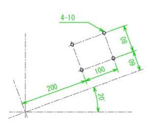 Thực hành xoay gốc tọa độ trong các chu trình cố định